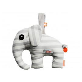 éléphant musical Elphee gris